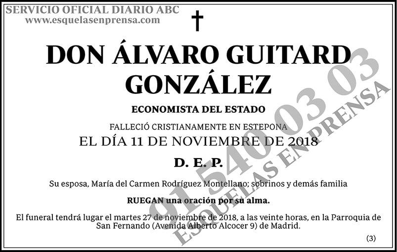 Álvaro Guitard González